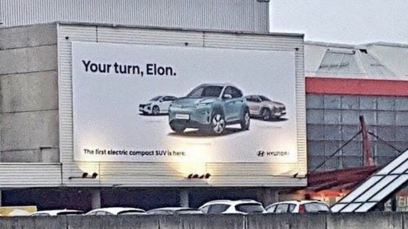 Hyundai Kona Electric vs Elon Musk