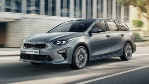 Kia Ceed Sportswagon 2019 vine la Geneva. Primele imagini cu versiunea break