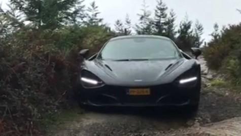 Cu McLaren-ul în off-road? Ce idee proastă!