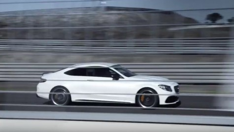 Mercedes-AMG C 63 S Coupe facelift va fi prezentat la New York