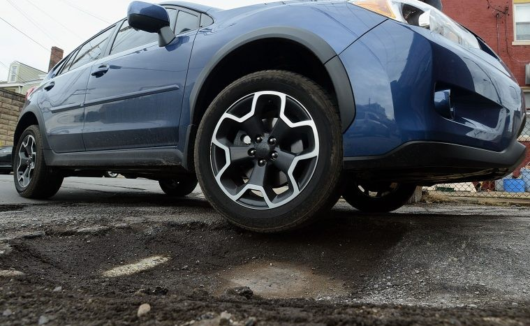 Gropile din asfalt