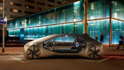 Renault EZ-GO, conceptul electric și autonom cu care francezii anticipează viitorul