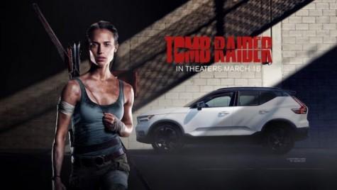 """Volvo XC40 este noua mașină a Larei Croft în """"Tomb Raider"""""""