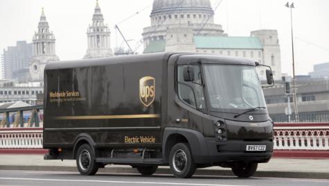 UPS utilizează rețeaua smart grid în Londra pentru a încărca simultan flota de vehicule electrice