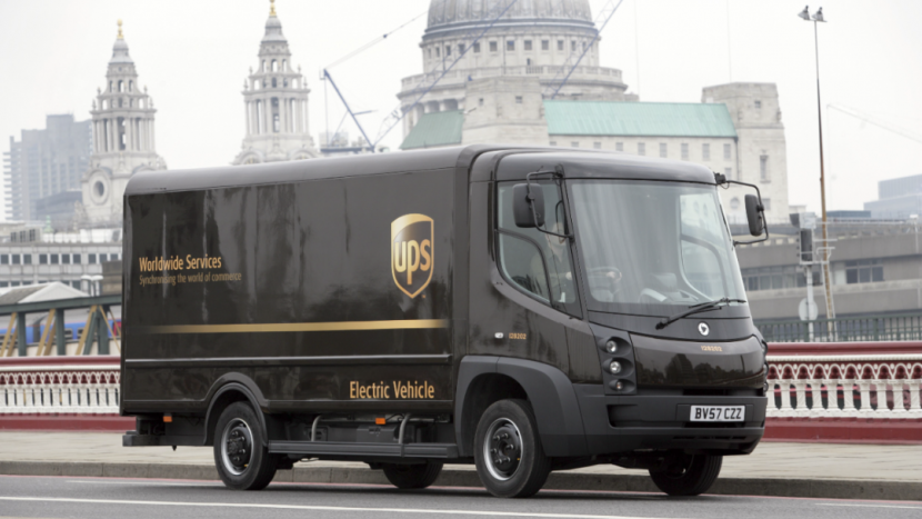 UPS electric vehicle 1