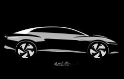 Volkswagen ID Vizzion arătat într-un teaser video