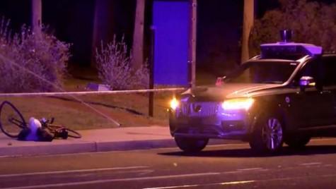 A apărut filmarea accidentului în care o mașină autonomă Uber a ucis un pieton
