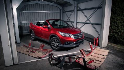 Păcăleală de 1 Aprilie – Honda CR-V Roadster