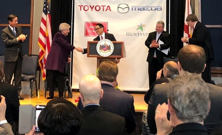 joint-venture Mazda-Toyota