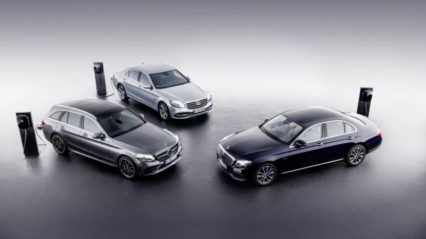 Mercedes C-Class Plug-In Hybrid diesel