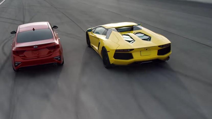 Kia Forte vs Lamborghini Aventador