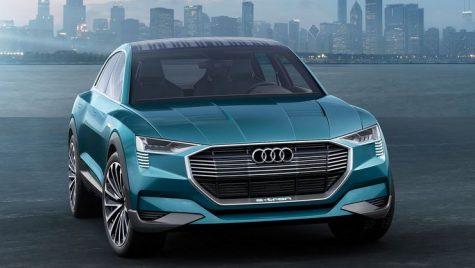 Audi e-tron va avea camere în loc de oglinzi retrovizoare