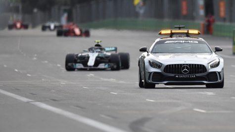 Haos și dramă în Azerbaijdan. Lewis Hamilton a câștigat cursa din Baku