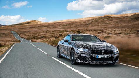 BMW Seria 8 începe numărătoarea inversă. Teste finale