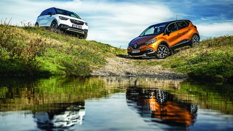 Test comparativ Opel Crossland X vs Renault Captur