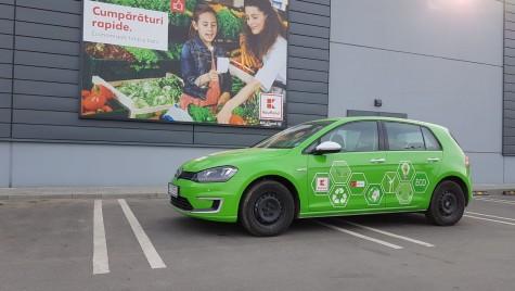 Premieră în România: Kaufland aduce prima mașină electrică într-un campionat național de raliu