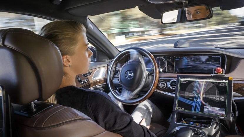 Calofornia - Mercedes-Benz S500 Inteligent Drive TecDay Autonomous Mobility Sunnyvale 2014