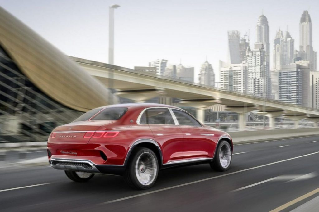 Mercedes-Maybach Vision Ultimate Luxury 5
