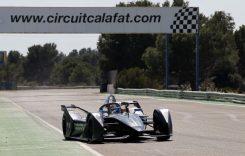 Monopostul BMW iFE 18 testat la Calafat