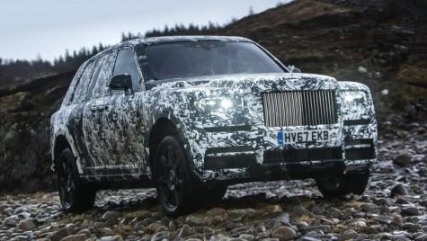 Rolls-Royce Cullinan, teste finale în colaborare cu National Geographic