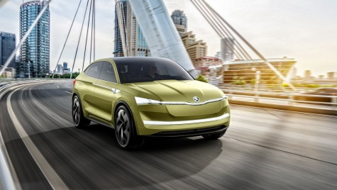 Primul SUV electric Skoda vine în 2020