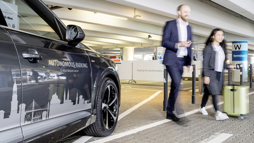 Volkswagen parcare autonoma