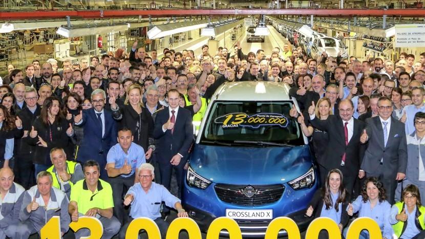 Zaragoza uzina Opel