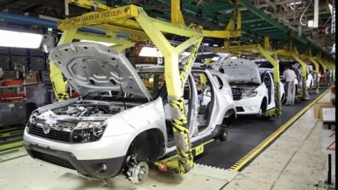 Creștere de producție pentru Dacia în primul trimestru