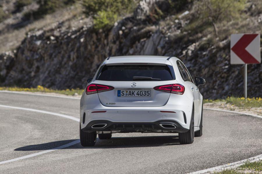 Mercedes A-Class Split 2018 test drive 37