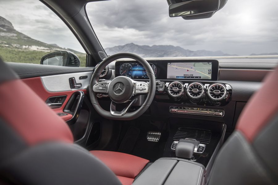 Mercedes A-Class Split 2018 test drive 30