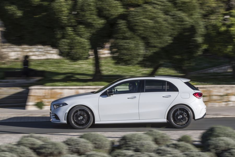 Mercedes A-Class Split 2018 test drive