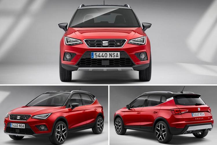 Hyundai Kona, Kia Stonic, Seat Arona