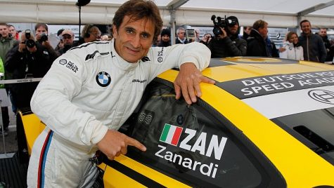 Alessandro Zanardi, la volanul unui BMW M4 DTM în etapa din Italia