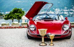 Alfa Romeo Stradale 33/2, favorita publicului la Concursul Eleganței de la Villa d'Este