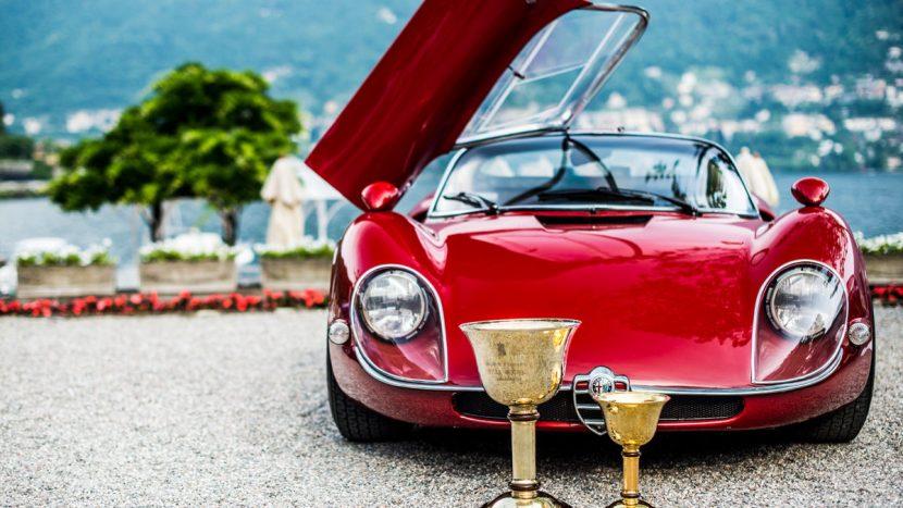 Alfa Romeo Villa d'Este 3 Concours d'Elegance