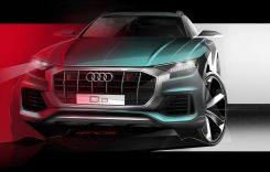 Audi Q8 – Așa arată din față viitorul SUV