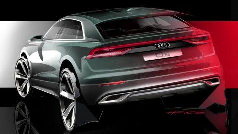 Audi Q8 va fi prezentat în curând