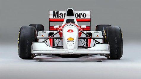 Bernie Ecclestone a cumpărat monopostul McLaren pilotat de Ayrton Senna