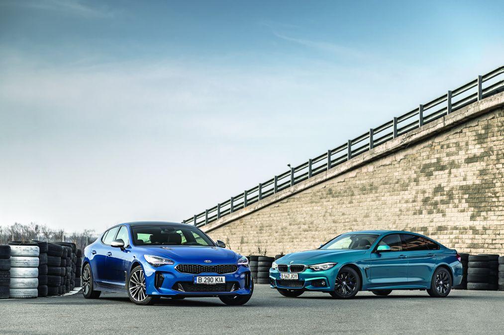 BMW 420d vs Kia Stinger