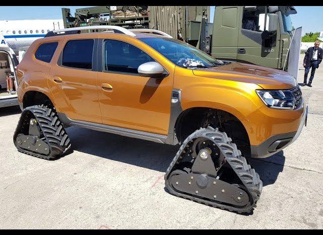 Dacia Duster șenilată