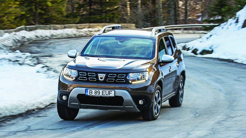 vanzari Dacia Duster