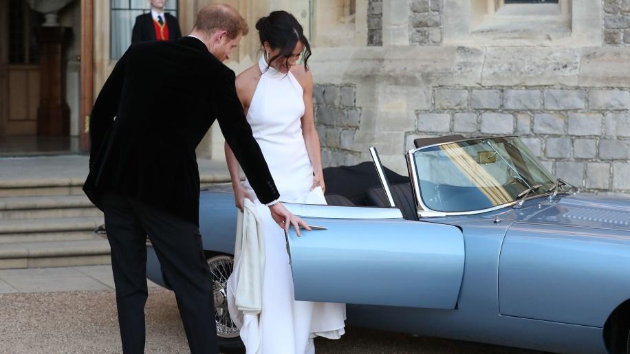 Jaguar E-Type nunta regală (2)