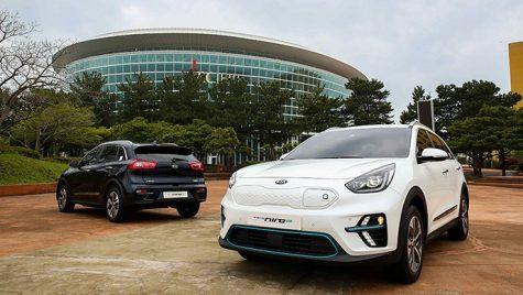Kia Niro EV 2019 a fost dezvăluită în Coreea de Sud