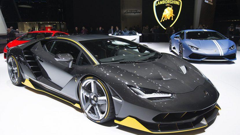 Lamborghini Salonul Auto de la Paris