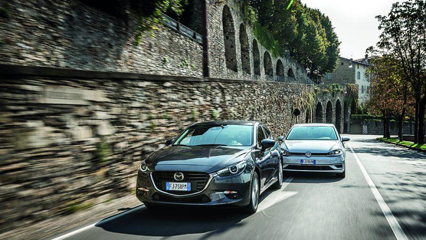 Mazda 3 vs VW Golf