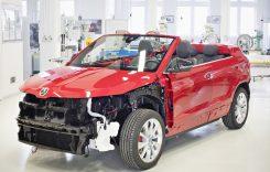 Așa arată Skoda Karoq Cabrio, conceptul realizat de elevi