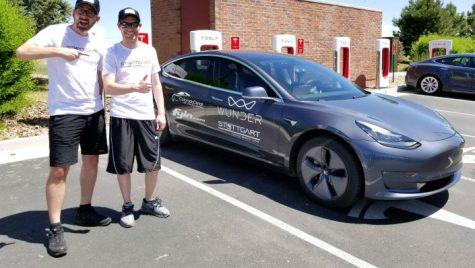 Autonomie record – Câți kilometri a parcurs Tesla Model 3 cu bateria plină?