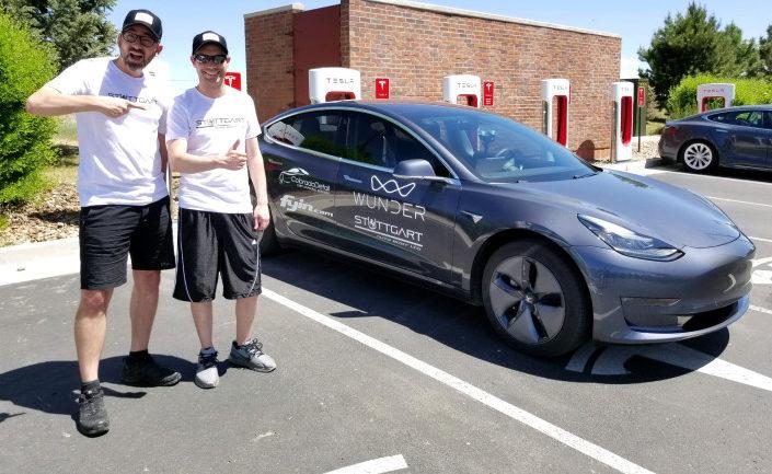Tesla Model 3 - autonomie record 1