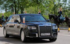 În sfârșit! Vladimir Putin și-a primit limuzina pe care a așteptat-o 4 ani