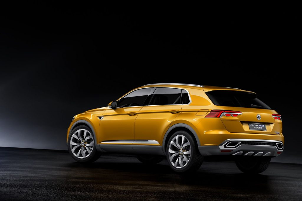 Volkswagen Tiguan Coupe Crossblue coupe concept (1)